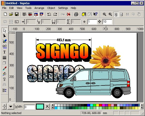 Click to view SignGo Pro screenshots